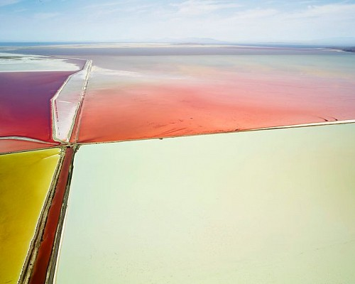 Exhibition: David Burdeny - Travels, Work: Saltern Study 11, Great Salt Lake, UT, 2015