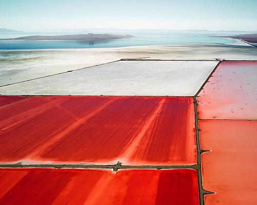 David Burdeny - Saltern Study 07, Great Salt Lake, UT, 2015