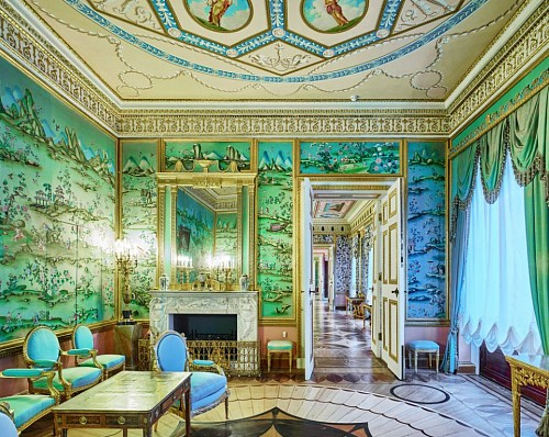 David Burdeny<br/> <i>Blue Drawing Room, Catherine Palace, Pushkin, RUS</i>, 2014