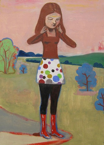 Stephanus Heidacker<br/> <i>Girl with Pretty Skirt</i>, 2013