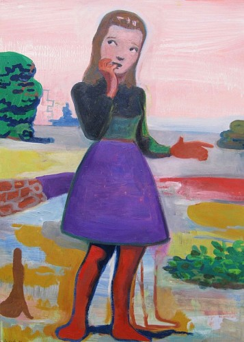 Exhibition: Art & Gift Extravaganza, Work: Stephanus Heidacker Girl Out of Town, 2012