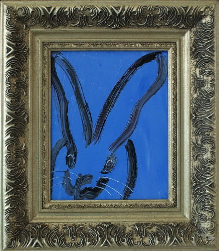 Exhibition: Hunt Slonem, Work: Untitled /Blue Bunny, 2018