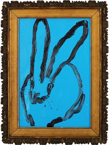 <i>Untitled /Blue / Black Bunny</i>, 2018