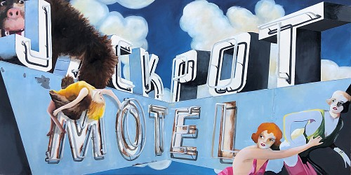 Melissa Sims - There She Gets Donna /Jack Pot Motel, 2019
