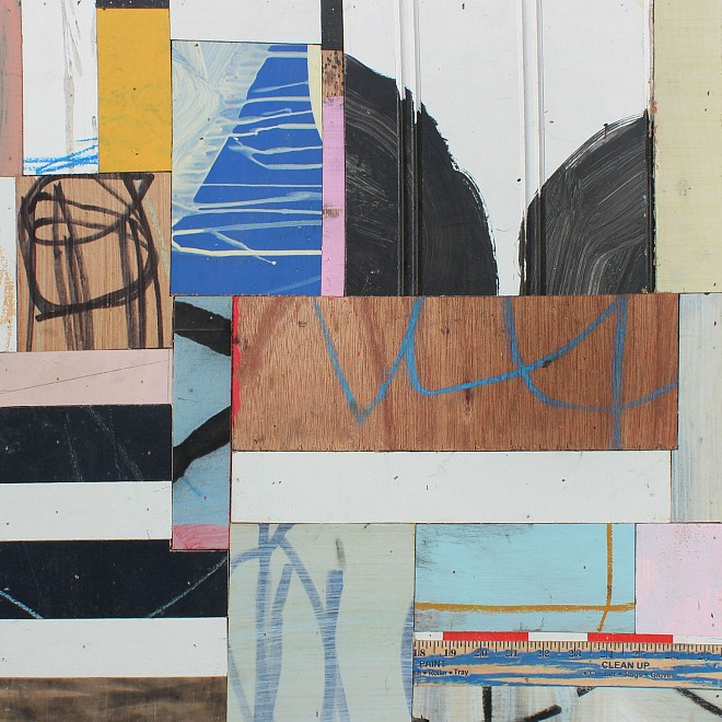 Organized Abstraction — a Group Show featuring Seven Artists - Installation View