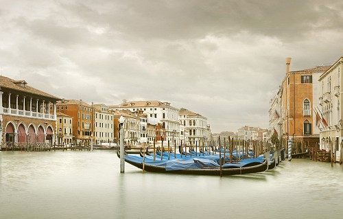 Exhibition: David Burdeny - Travels, Work: Gondola Station lll, Grand Canal, Venice, 2012