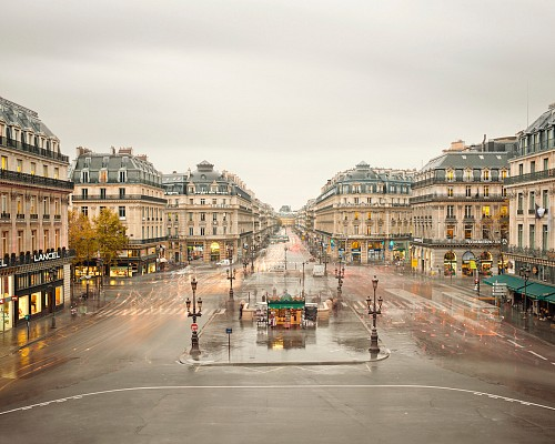Exhibition: David Burdeny - Travels, Work: Place de Opera, Paris, France, 2012