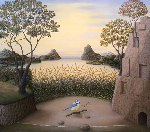 Charles Keiger<br/> <i>The Cove (Blue Titmouse)</i>, 2020